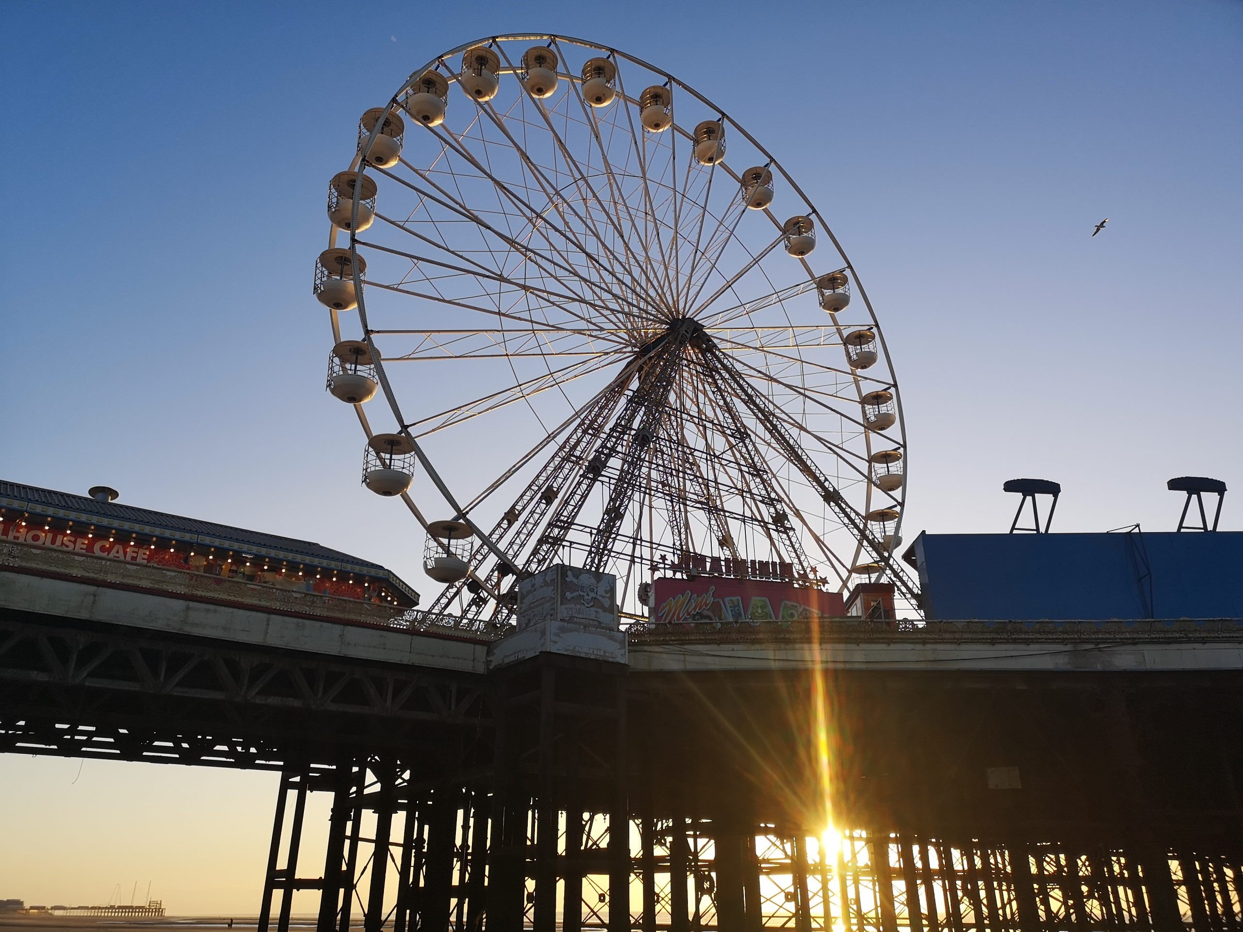 Ferris Wheel at Blackpool's Central Pier